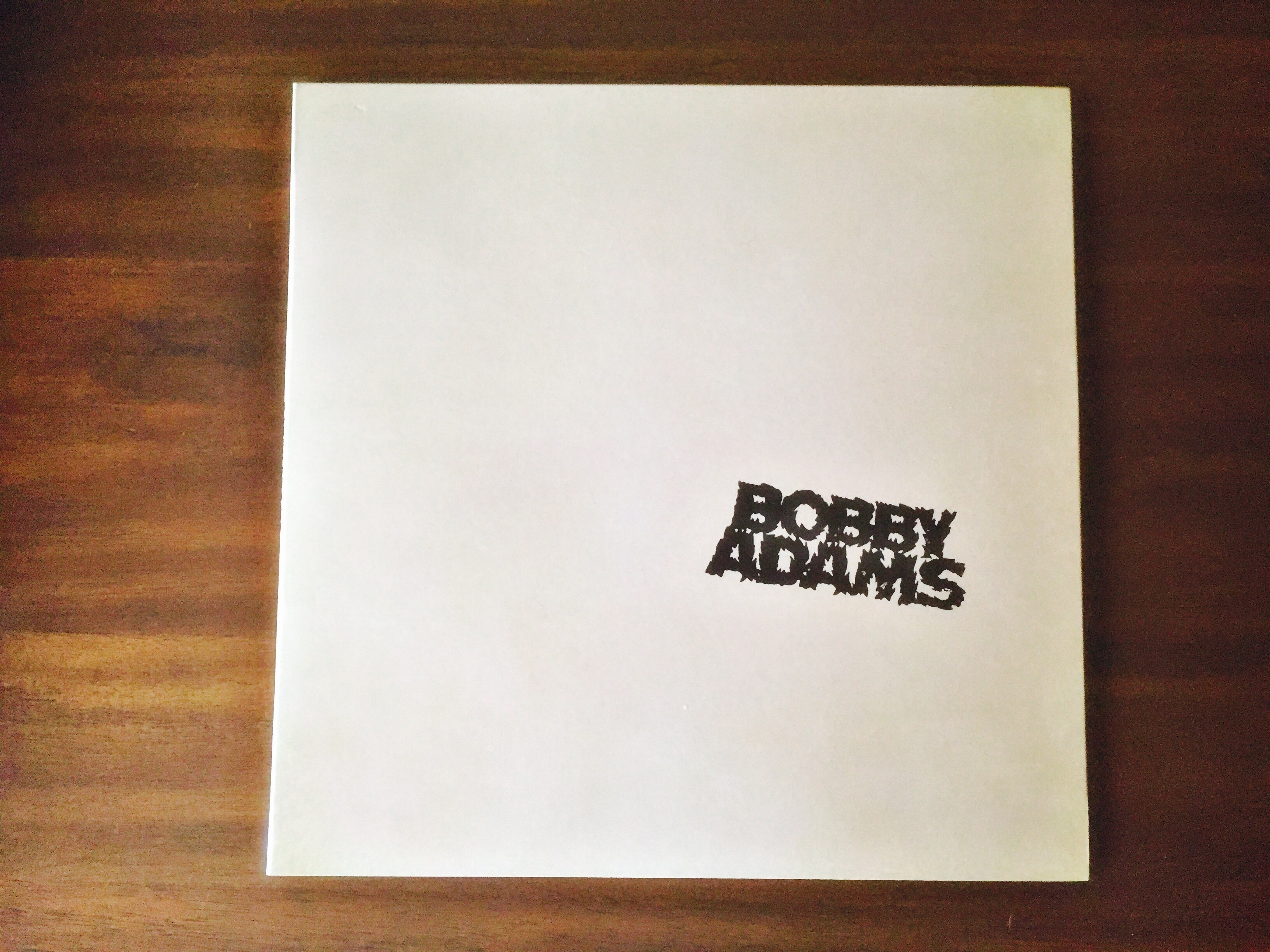 Bobby Adams LP front